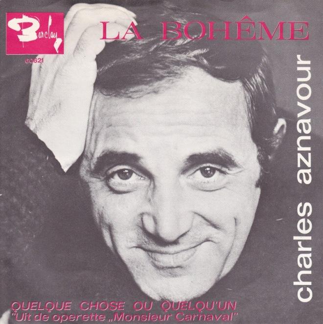 016 - La boheme - Chalres Aznavour