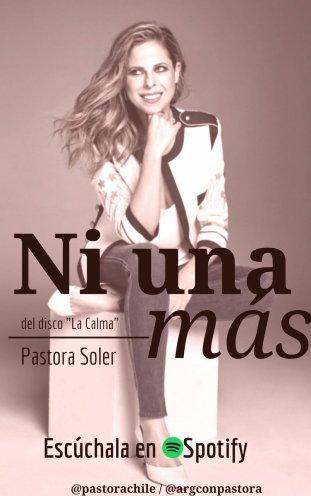 058 - Ni una más - Pastora Soler 1